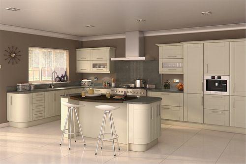 Diy Kitchens Fulford White Gloss