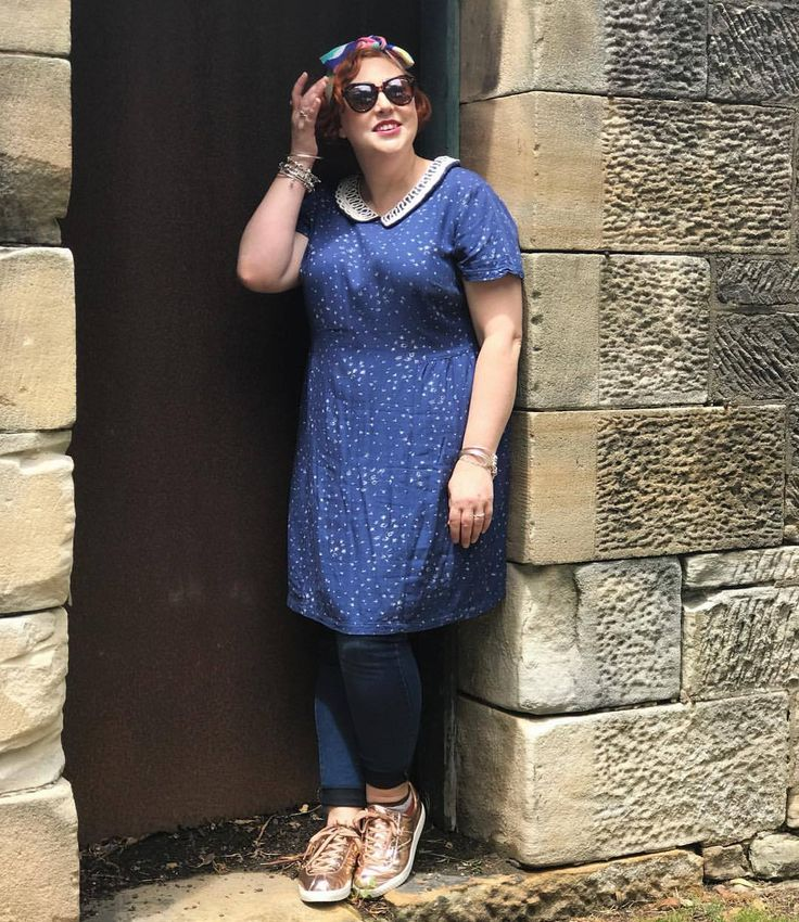 Off for a weekend wander in my @boden_clothing dress thrifted from @redcrossshops Rozelle and @karen_walker sunnies thrifted from @vinniesnsw Rozelle. Love having two such fabulous opshops walking distance from home.  ⠀⠀⠀⠀⠀⠀⠀⠀  #TTRlovingpreloved...
