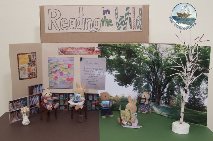 Reading in the Wild, Ch. 5 - thoughts, reflections, and dioramas   The Logonauts #cyberPD