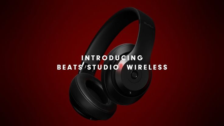 Beats By Dre | Beats Studio3 Wireless | Hear The Music. Not The Noise.