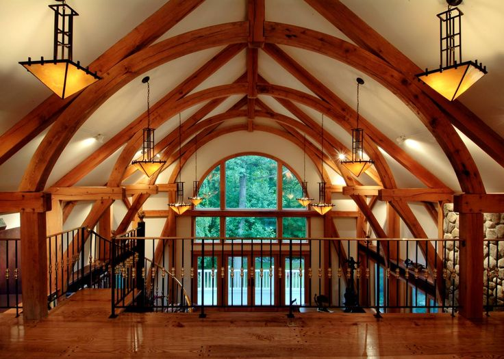 steam bent oak in this timber frame by tfbc member vermont timber frames timber frame homes pinterest timber frames vermont and frames
