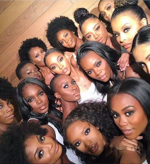 43 Beste Haarfarbe für dunkle Haut, die schwarze …