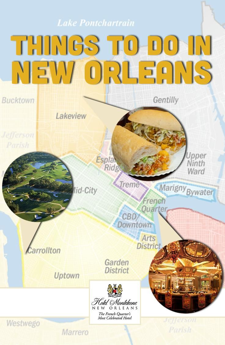 Hotel Monteleone's favorite things to do in New Orleans!