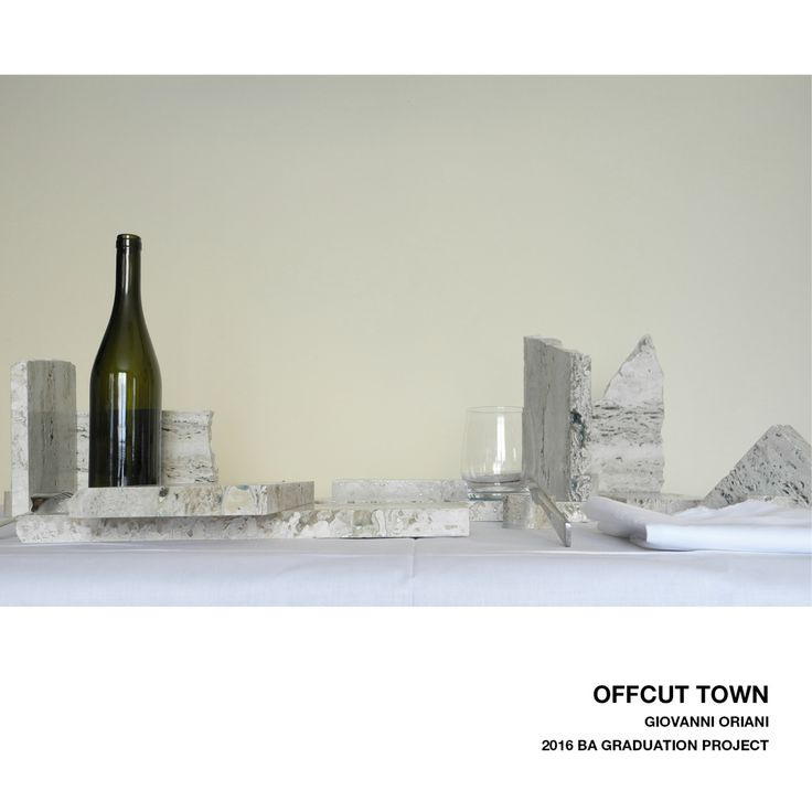 BA Graduation project OFFCUT TOWN by Giovanni Oriani