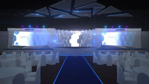 Samsung AV Forum 2012, Bangkok by Thanawut Rojanarowan, via Behance