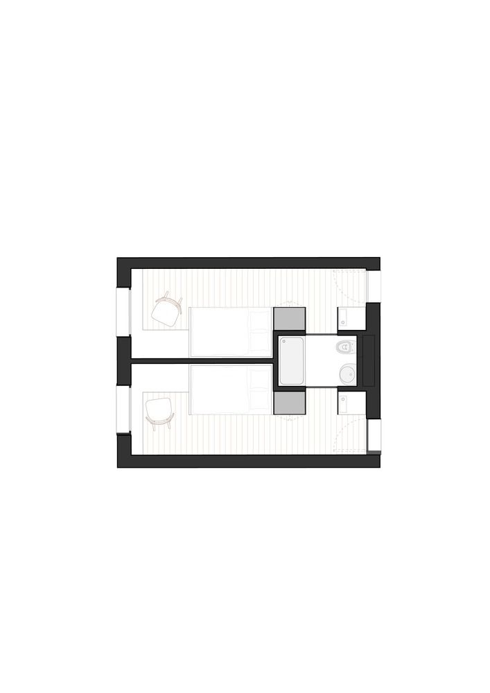 Doorm Student Housing,Typology