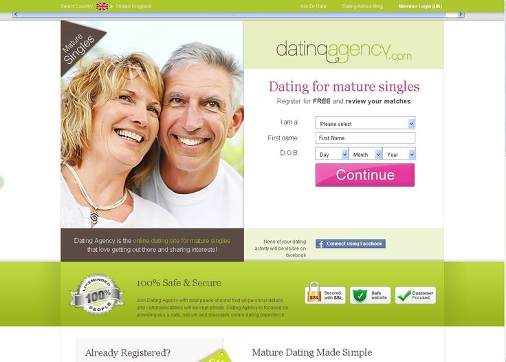 Dating site for professionals over 50
