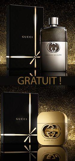 Échantillon de Gucci Guilty pour elle et lui. http://rienquedugratuit.ca/produits-de-beaute/echantillon-de-gucci-guilty-pour-elle-et-lui/