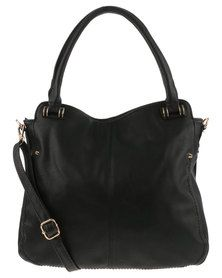Vikson Slouchy Tote Bag Black