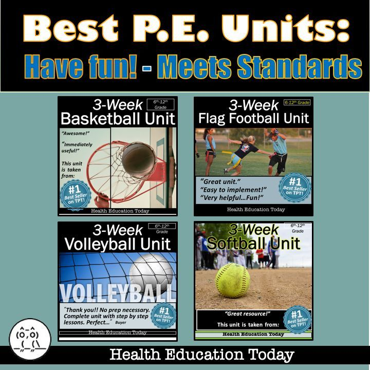 If you teach Physical Education you might want to check