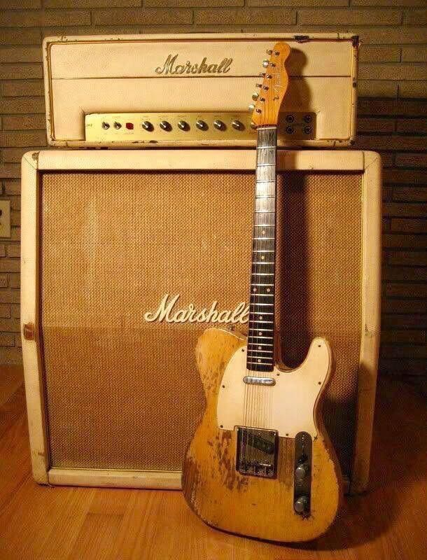 Fender & Marshall. A tale as old as time