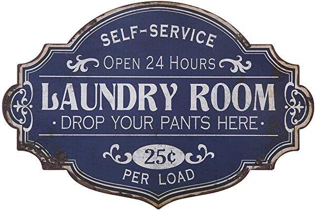 Amazon Com Laundry Room Decor 4 Stars Up Vintage Laundry