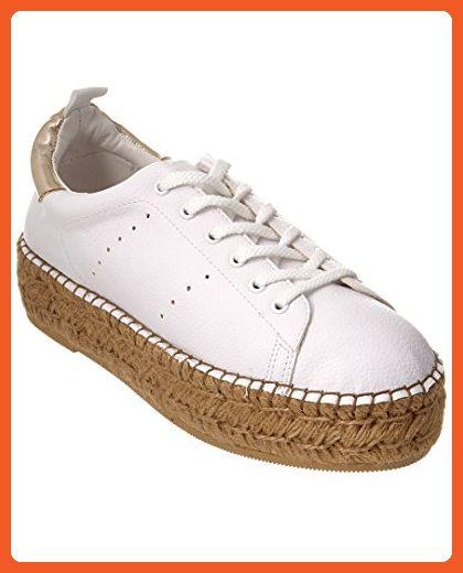 Steven By Steve Madden Pappy Sneaker, 9.5, White - Athletic shoes for women (*Amazon Partner-Link)