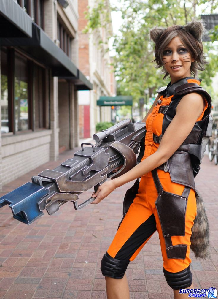 Rocket Raccoon from Guardians of the Galaxy  Cosplayer: The Stylish Geek