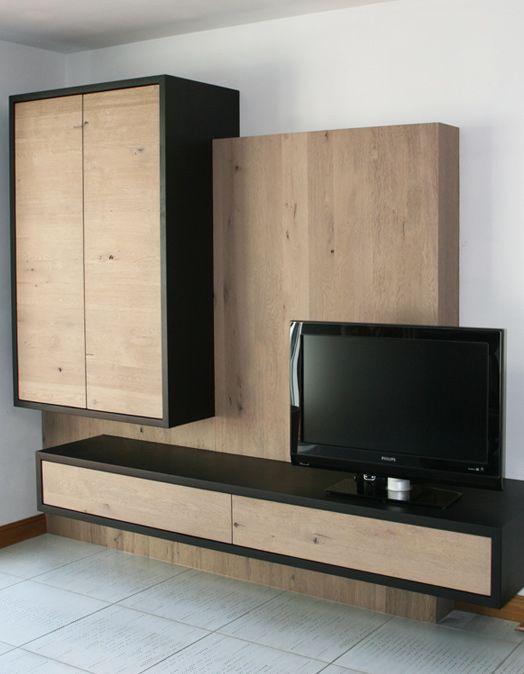 Les 25 meilleures id es concernant meuble hi fi sur for Nabou meuble tv mural 319x207 cm chene cendre