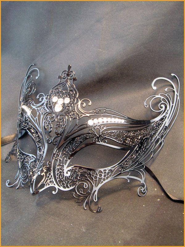 Beautiful silver mask.