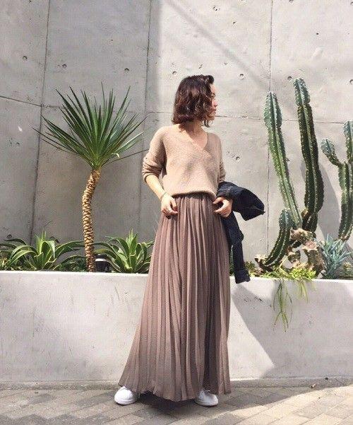 TODAYFUL(トゥデイフル)のプリーツロングスカート(スカート)|詳細画像