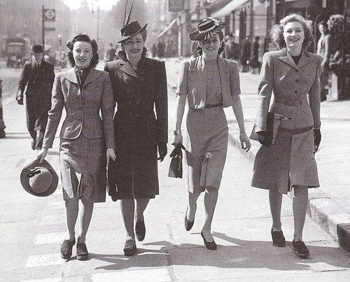 La moda en los años 40 - VogaWoman