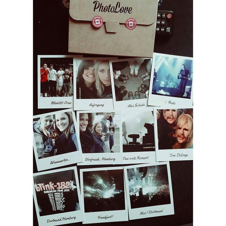 Groooooße Liebe Erinnerungen an die besten Konzerte der Welt #memories #concert #blink182 #crew #thankful #hamburg #frankfurt #dortmund #photoloveprints #photolove #tomdelonge #markhoppus #travisbarker #friends by mrs.snowflakee
