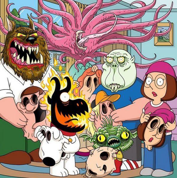 Family Guy Halloween 2015   Randomness   Pinterest   Halloween ...