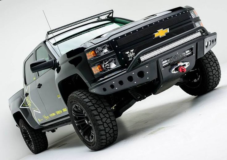 2014 - 2015 Chevy 1500 Stealth Front Bumper w/ Winch Mount