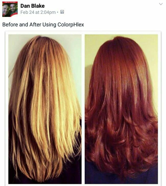 Before and after with #colorpHlex