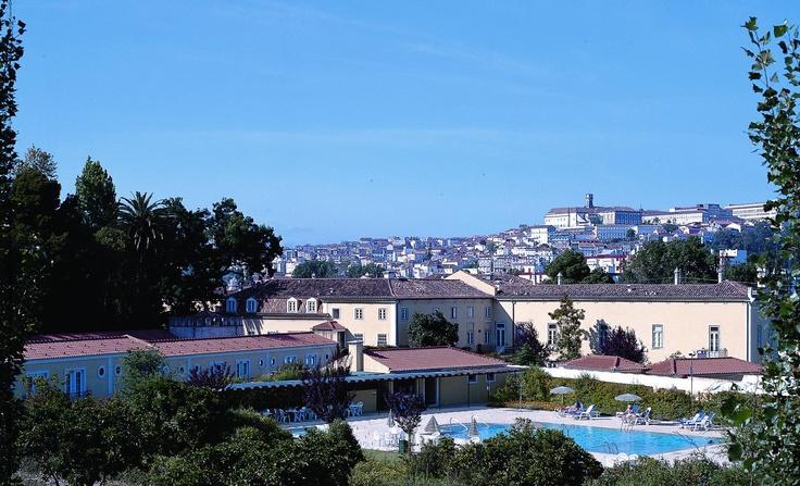 Coimbra seen from Quinta das Lagrimas