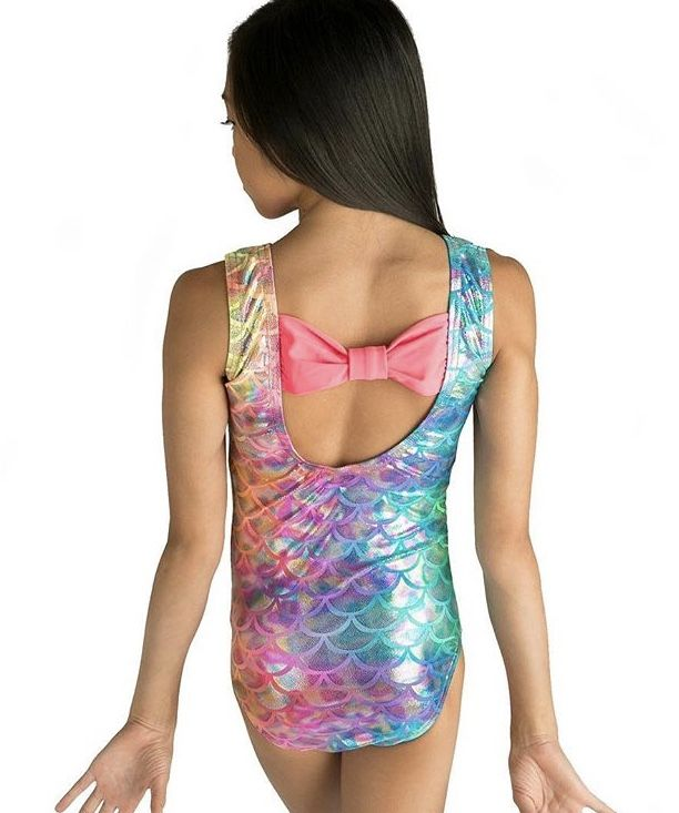 2d1324bee lizatards has a new coral mermaid bow back leotard! There s also a ...