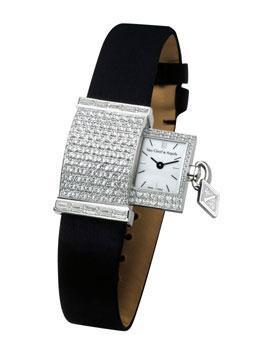 Van Cleef & Arpels Pave Diamond Secret Watch at London Jewelers!