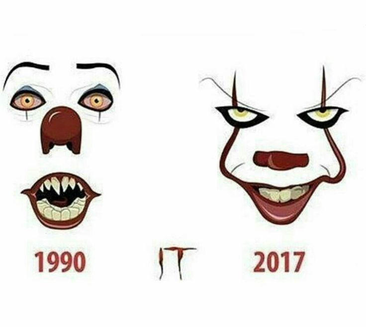 Tim Curry's Pennywise introduced the clown horror to the whole world and Bill Skarsgård made us all proud.