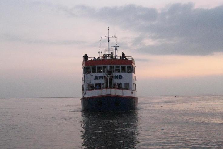 De boot naar Ameland