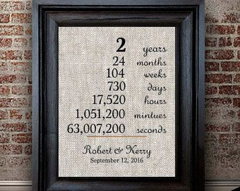 1 Year Wedding Gift Etiquette : Gift Cotton Anniversary Gift for Husband 2 Year Anniversary Gift ...
