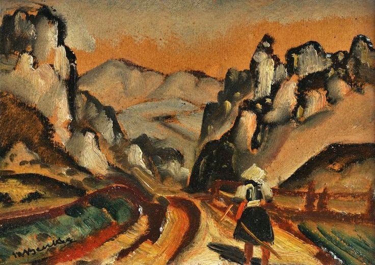Martin Benka  1888-1971  Pohádková dolina – Terchová
