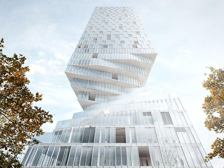 A New Building Design Thatu0027s Like Jenga IRL Design