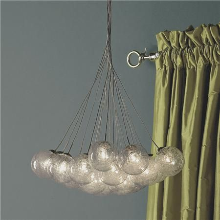 Spun-Glass Spheres Chandelier - 24 light