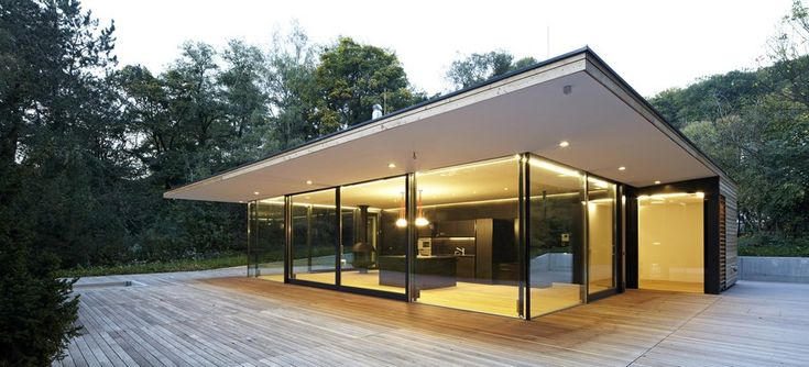 architecture project haus hainbach moosmann Modern Summer Retreat in Wood and Glass: Haus Hainbach