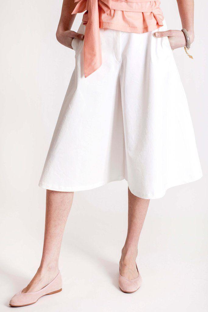 A-line pants by slow fashion designer brand Dott.