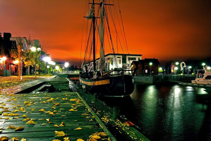 Oulu's Harbour, Finland