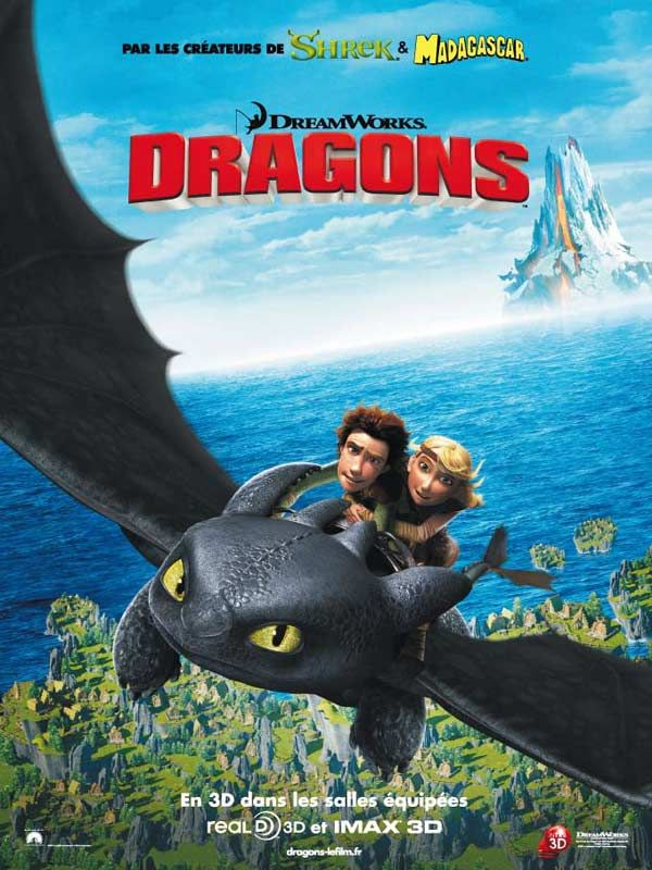 L'histoire d'Harold, jeune Viking peu à son aise dans sa tribu où combattre les dragons est le sport national. Sa vie va être bouleversée par sa rencontre avec un dragon qui va peu à peu amener Harold et les siens à voir le monde d'un point de vue to...
