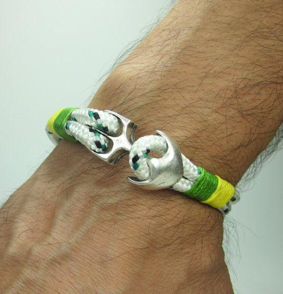Men's Bracelet Unisex Bracelet Nautical Sailing by ZEcollection, $14.00