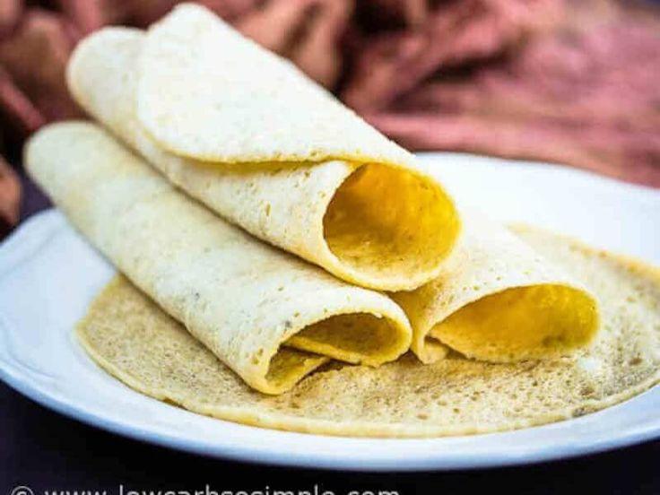 2 minuters low carb tortillabröd
