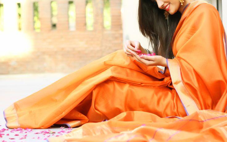 #sheerelegance #saris in silk blends
