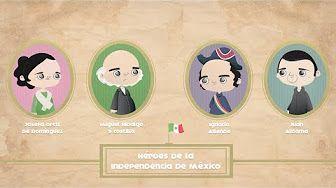 Resumen etapas de la independencia de México - YouTube