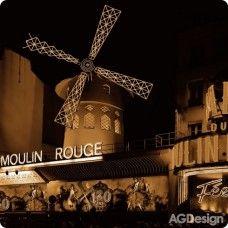 Moulin Rouge falikép