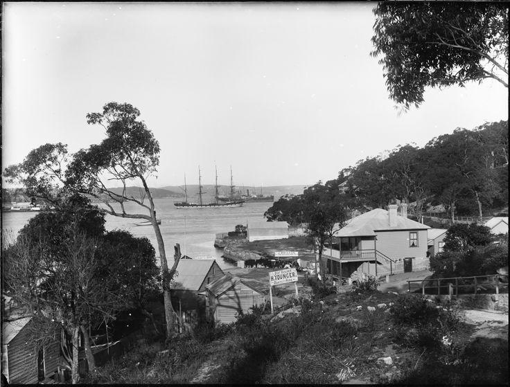 Kirribilli, looking east over Careening Cove, Neutral Bay towards Bradleys Head