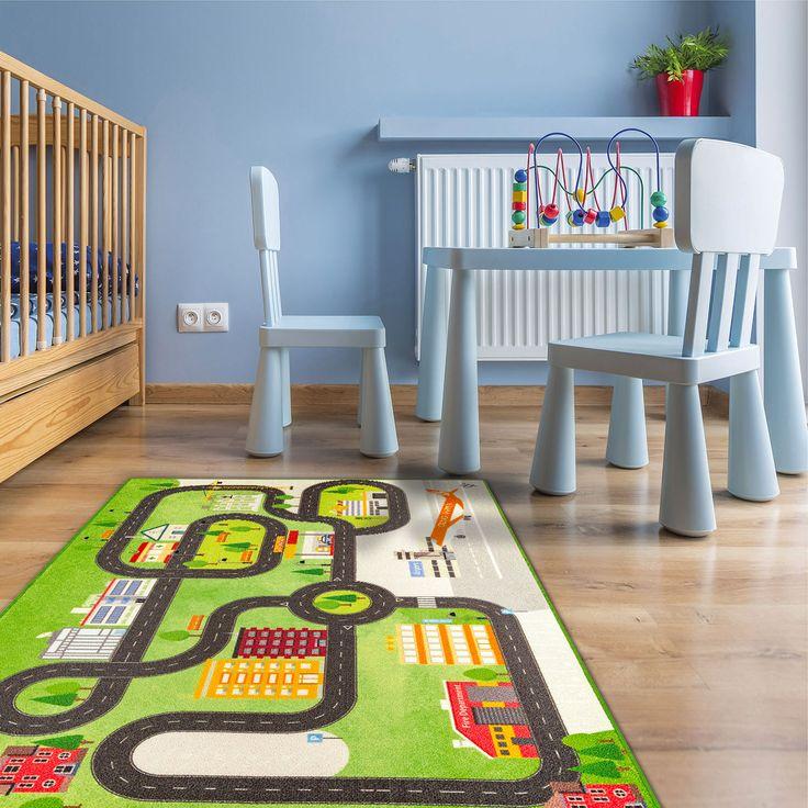 Tappeto da gioco per Bambini modello ROAD DIGITAL