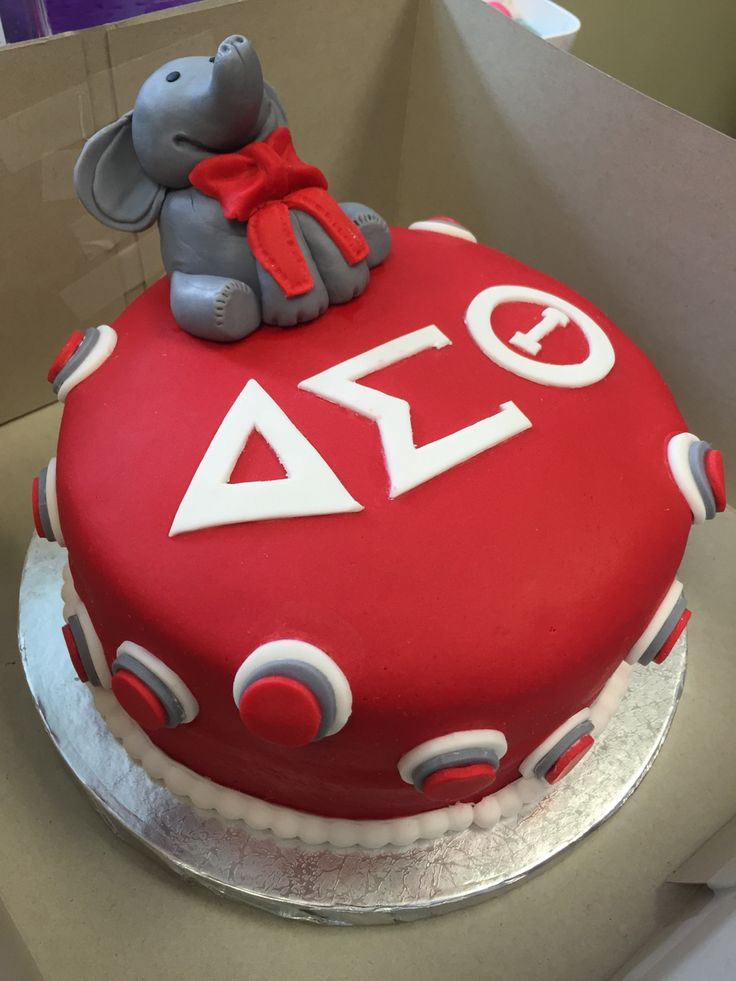 Delta Sigma Theta Birthday Cake