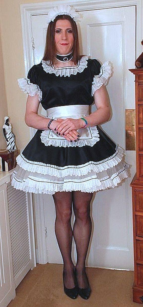 Crossdresser Secretary In Office Uniform