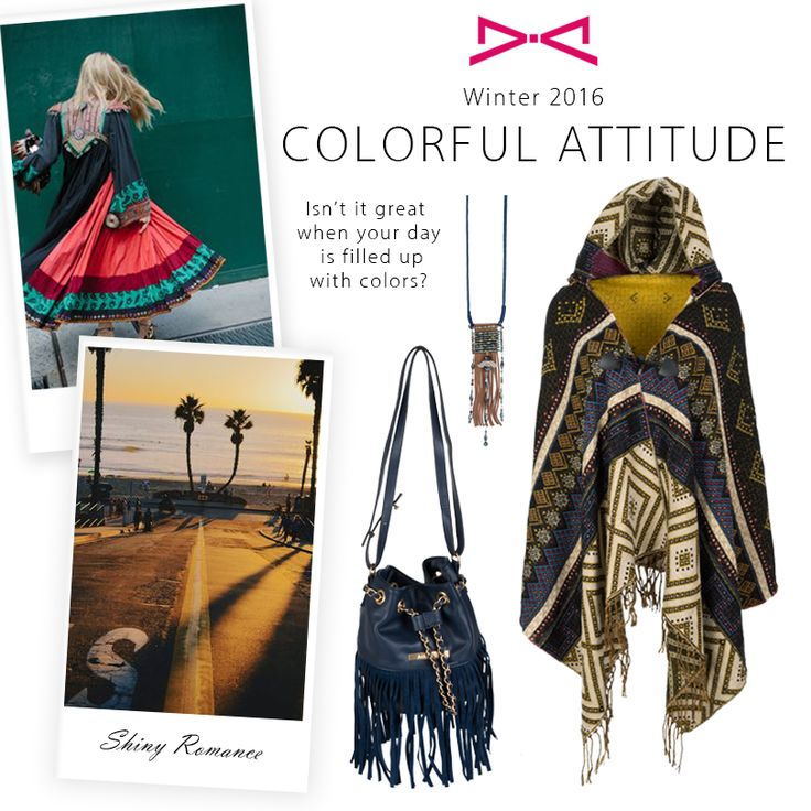 A colorful attitude for a beautiful day!