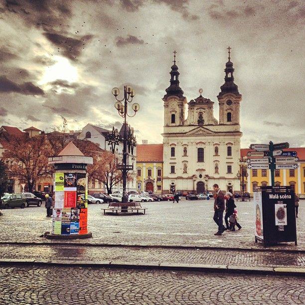Uherské Hradiště ve městě Zlínský